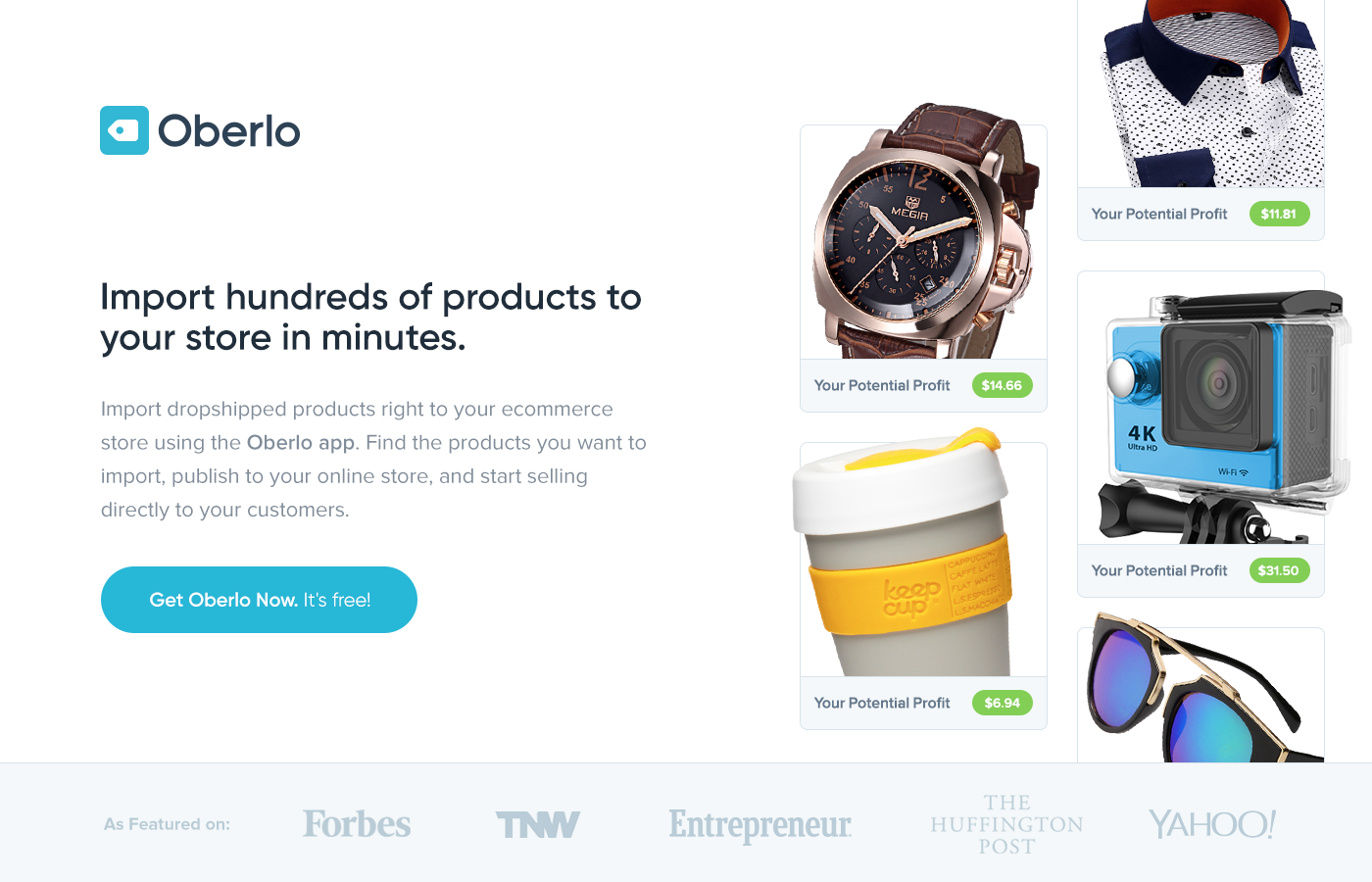 Dropshipping Shopify & Oberlo